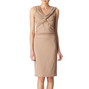 Reiss Susie Sleeveless Dress in Natural